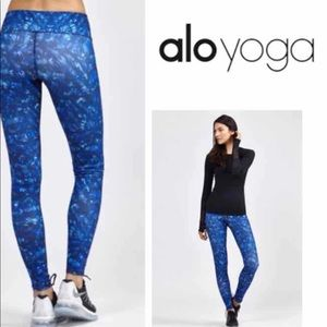 ALO yoga Airbrush print leggings